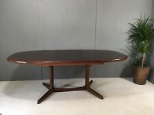 Fabulous Vintage Large Extending Rosewood Gudme/Dyrlund Style Dining Table 6-10