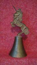 Bells Sarna India brass bell collectible Unicorn