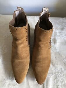 Zara Basic Collection Women Boots/ Exc Conds/ Size 36/ Made In Morocco