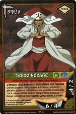 NARUTO CARD GAME Terzo Hokage NI-44 FOIL NEW MINT RARE