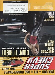 Super Chevy Magazine May 2003 Doin' It Right , Cars , Hot Chick cover