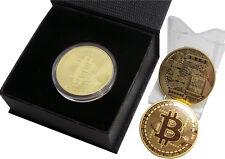 Vestido De Lujo Bitcoin 24k Oro Re Regalo Para Digital Moneda Monedero Conmemorativa
