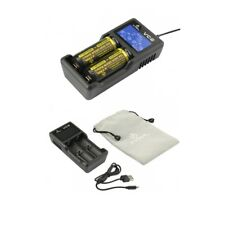 XTAR Vc2 USB Battery Charger Nk198 Deu