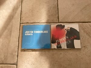 Justin Timberlake _ Lotto 2 X CD PROMO RADIO & SINGLES RARE