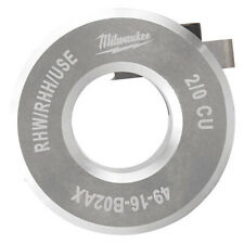 Milwaukee 49-16-B02ax Stripping Bushing,Max. Cable 2 Awg Dia.