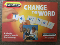 Vintage Game,Change The Word - Words & Learning-Vintage Spears Games - See Photo