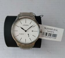 Citizen NJ0090-81A Mens Automatic Skeleton Back Titanium Watch