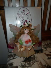 CINDY MCCLURE FAIRY by Victoria Impex 1984 CLOVER MIB w/hang tag Autumn girl