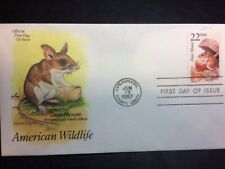 #2324 FDC 1987 Artcraft 22c  American Wildlife CAPEX Deer Mouse
