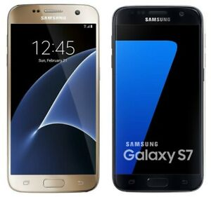 Samsung Galaxy S7 SM-G930A G930V G930P 32GB Black VERIZON SPRINT T-Mobile