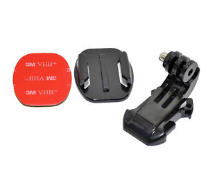 Brand New Vertical Surface J-Hook Buckle Mount Set Compatible with GoPro