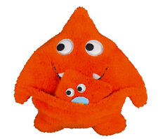 Schmusekissen orange Mister O. Monster mit Baby S.Oliver by Käthe Kruse 98018
