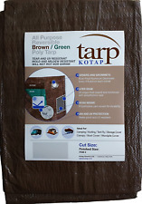 Kotap 20-ft x 30-ft Reversible Brown/Green Poly Tarp, Item: Tbg-2030