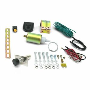 15lb Power Trunk / Hatch Kit with Door Popper - Steel Power Latching System
