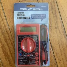 Cen Tech 69096 Digital Multimeter Electronic Volt Tester Electrical Testing Tool
