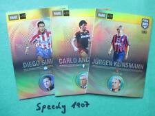 FIFA 365 all 3 Legends Simeone Milan KLINSMANN Complete Panini Adrenalyn 17