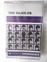 THE BEATLES A HARD DAYS NIGHT 2000 RARE orig CASSETTE TAPE INDIA indian