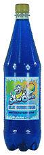 Jarabe De Cono De Nieve Azul Chicle 1 Litro Botella Shave Ice, aguanieve