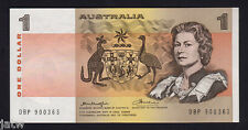 Australia R-76b. (1976) One Dollar - Knight/Wheeler.   DBP Test Note.. aU-UNC