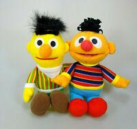 Ernie & Bert Sesamstraße Plüsch Figur ca. 25 cm & ca. 28 cm Set