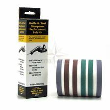 Work Sharp Assorted Belt Kit, Replacements for Original Knife & Tool Sharpener