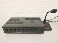 AMPLIFICATEUR MAGASIN TOA A-1121 + MICRO  garantie 3 mois sonorisation melangeur
