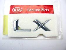 New OEM Tail Gate *LX* Emblem Badge Nameplate For 02-05 Kia Sedona 0K55D51742A