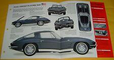 1963 Chevrolet Corvette Sting ray 327 ci 300 hp Split rear info/Specs/photo 15x9