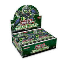 Yu-Gi-Oh Chaos Impact Booster Box 1st Ed Sealed English Yugioh Preorder