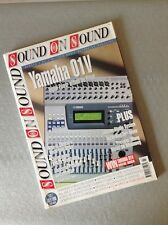 Sound On Sound 1998 Vol 13 Issue 9 Yamaha 01v