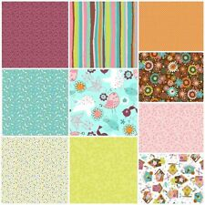 TWEET TOWN by  3 WISHES FABRIC 10 fat quarters