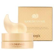 PETITFEE GOLD&SNAIL Hydrogel Eye Patch AugenPads 60pcs Original Korean Cosmetics