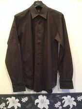 Unbranded Machine Washable Striped Formal Shirts for Men