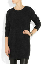 ACNE Studios Wham Mohair Sweater Dress in Charcoal Size M $330
