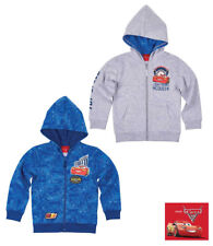 New Boys Sweater Jacket Disney Cars Casual Jacket Blue Grey 98 - 128 #50