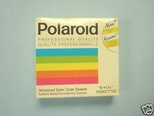 Polaroid Floppy Diskettes boxes of 10 5.25in DSHD