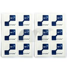 12 PCS NFC Tags for Samsung Galaxy S4  GS4 (NTAG203) & all others