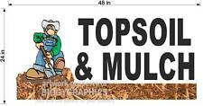 2' X 4'  TOPSOIL TOP SOIL AND MULCH NEW!