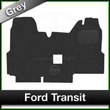 Tailored Fitted Carpet Mats FORD TRANSIT Double Passenger Seat 2000 to 2006 Grey