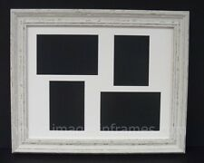 """IVORY DISTRESSED 14""""x11"""" MULTI PICTURE AND PHOTO FRAME"""