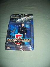 Babylon 5 John Sheridan & Space Station 1997 Warner Brother Action Figure 5in