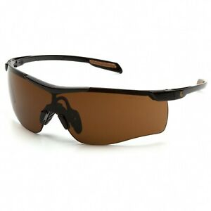 Carhartt Cayce Sandstone/Bronze Anti Fog Safety Glasses Sunglasses Z87+ CHB918ST