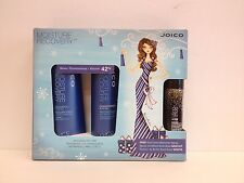 JOICO MOISTURE RECOVERY SHAMPOO,CONDITIONER & GOLD DUST SHIMMER FINISHING SET