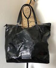 Marc by Marc Jacobs Take Me Bag Black Patent Leather Tote Bag / Shoulder Bag