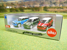 SIKU LIMITED EDITION BMW MINI COUNTRYMAN CAR GIFT SET 1/55 621300601 BRAND NEW