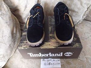NEW ONLY PAIR ON EBAY PUBLISH X TIMBERLAND Classic Oxford Black Suede Boots 9.5