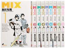 Mix Adachi Mitsuru 1-9 Japanese Anime Manga Comic Book Set Free Shipping