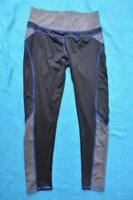 Crossroads LIFE Slim & Trim Activewear BLACK Leggings GYM-SPORT-YOGA Size 10 NEW