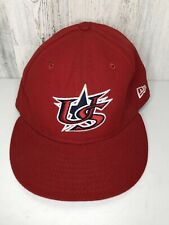 New Era 59Fifty Team US Baseball Hat Red, Men's Size 7 3/8 ( Made In The USA )