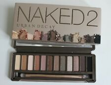 Urban Decay Naked 2 Eye Shadow Palette with Brush - New In Box - 12 Colors